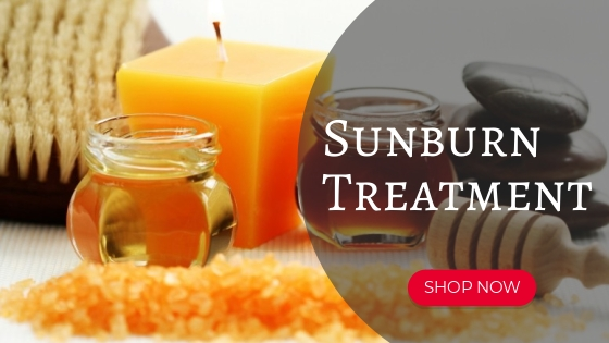 Sunburn Treatment Multiflower Honey
