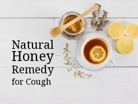 Natural Honey Remedy for Cough