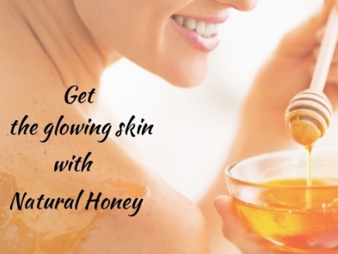 Natural Honey for glowing skin