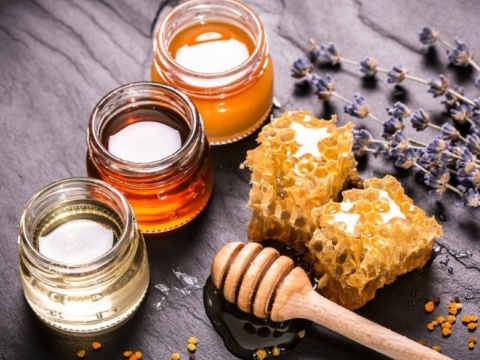 Fresh Natural Raw Honey
