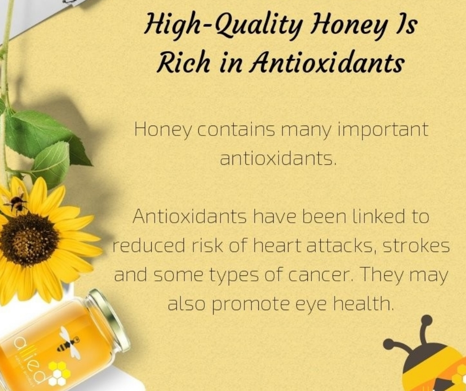 Natural Honey helps strengthen immune system