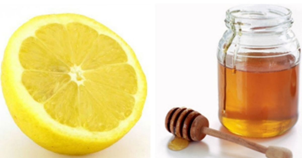 Natural Pure Honey & Lemon