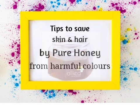 Tips to save skin & hair by Pure Honey from harmful colours