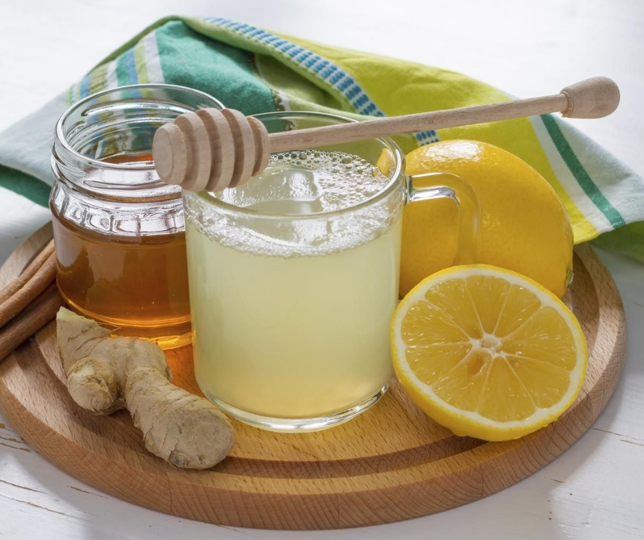 Lemonade with Raw Honey