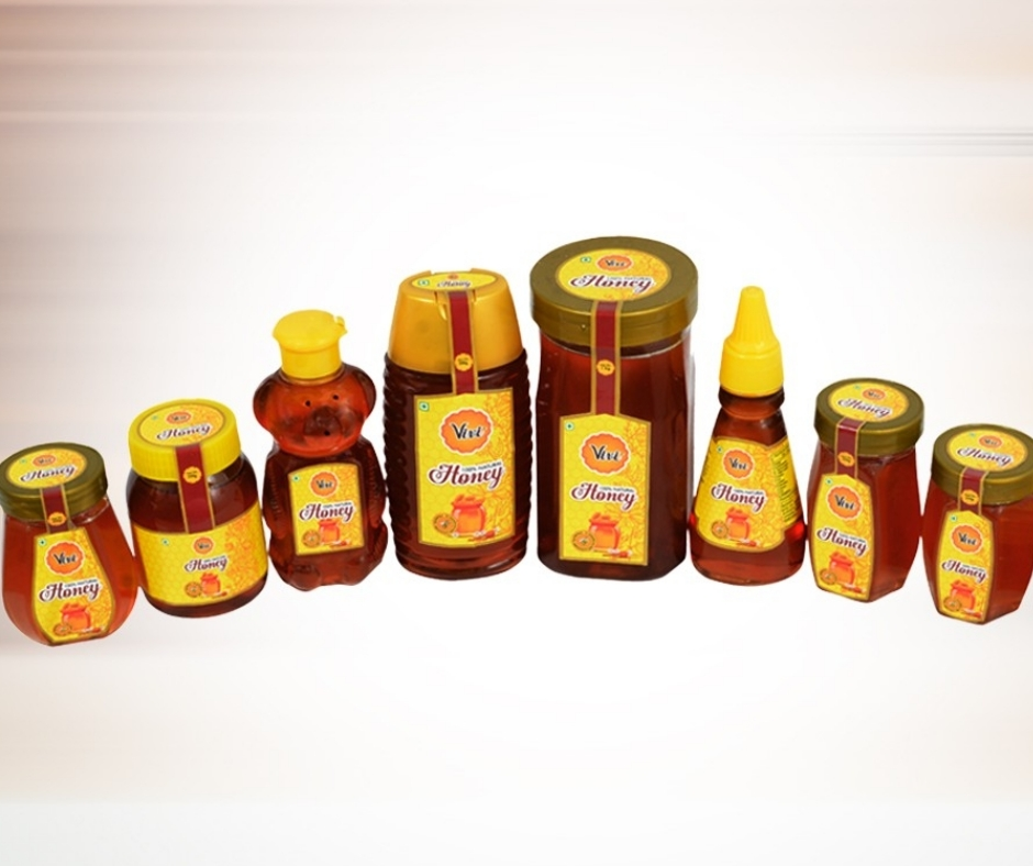 Natural Raw Honey Packaging