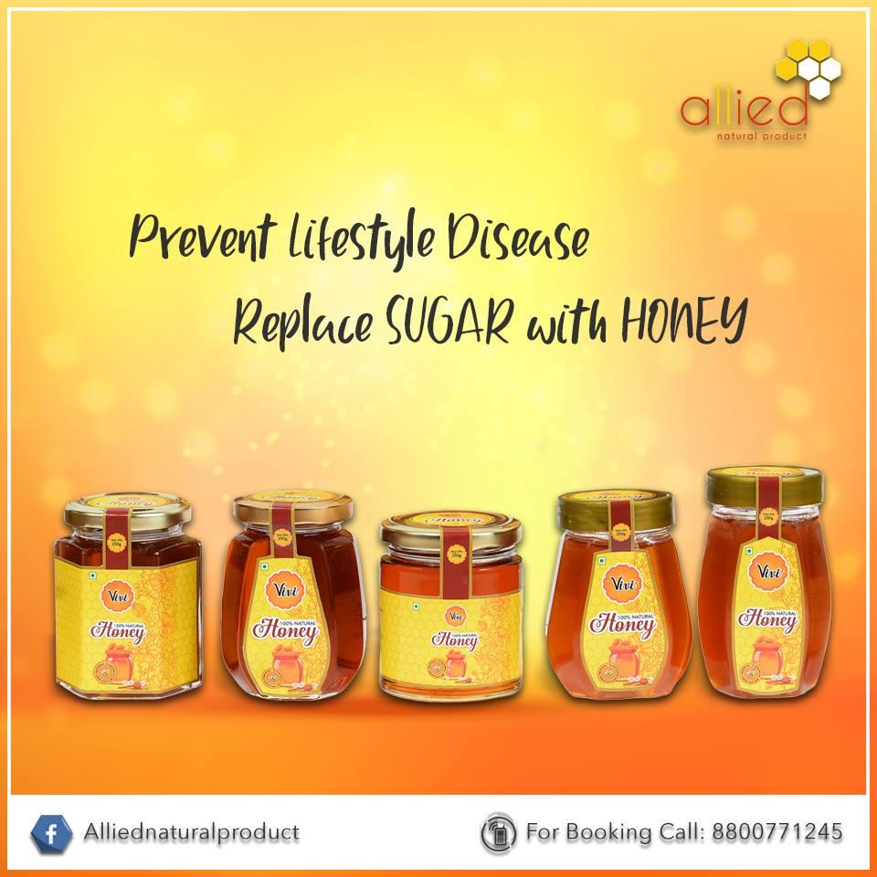 Natural Honey Packaging