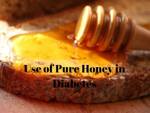 Use of Pure Honey in Diabetes-Allied